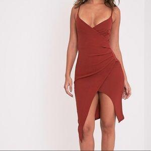NWT PrettyLittleThing wrap dress